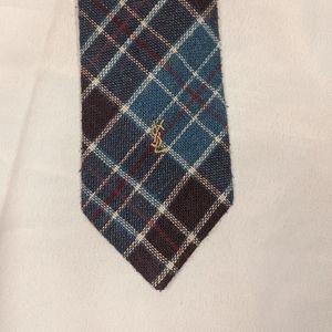 Yves Saint Laurent Wool Blend Tie